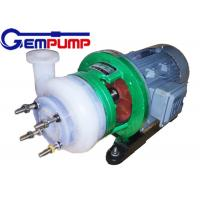 Quality Fluorine Chemical Centrifugal Pump for pesticides / Dye industry pumps for sale