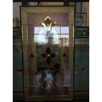 Quality Leaded glass for wooded door for sale