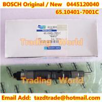 Quality BOSCH Original /New Injector 0445120040 / 65.10401-7001C for DAEWOO DOOSAN for sale