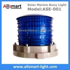 Quality 2-3NM Solar Marine Warning Light Solar Beacon Lantern Solar Signal Lamp for Ports & Harbors Marinas Aquaculture Offshore for sale