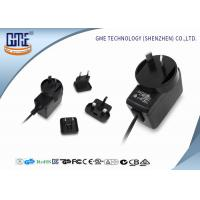 Quality Interchangeable Type Desktop 12v Power Adapter UL FCC GS CE RCM Approved for sale