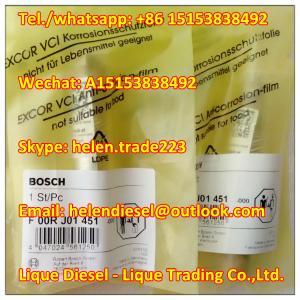 Quality Original Bosch Injector Valve Set F00RJ01451 , F 00R J01 451, Fit 0445120064 0445120074 0445120137 0445120139 0445120065 for sale
