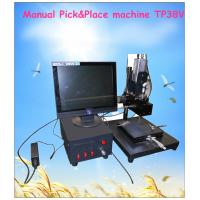 Quality Mini Manual pick and place machine TP38V for sale