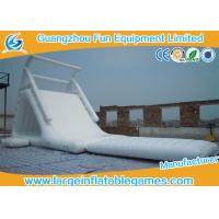 Quality China Wholesale Durable Cheap Lake White Inflatable Water Slides for sale