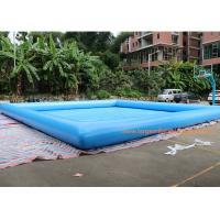 Quality Fire Retardant And Waterproof Blow Up Swimming Pool 10*10m Or Customized for sale