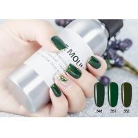 Quality Soak Off No Yellowish No Toxic UV LED Gel Nail Polish Green / Red Color for sale