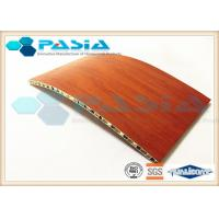 China Honeycomb Wall Construction Lightweight Wood Boards For Ship Building on sale