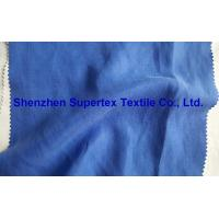 Quality Slubby Twill Cupro Tencel Linen Solid Dyed Fabric for sale