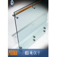 Quality 12mm indoor frameless tempered glass railing for stairs balcony for sale