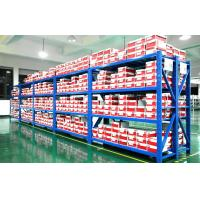 Quality 75mm Adjusted Storage Medium Duty Racking Metal Shelving 100 - 500 KG / Level for sale
