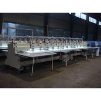 Large Electronic Embroidery Machine , Professional Monogramming Machine 1000RPM Speed