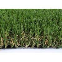 Quality V Shape Landscaping Artificial Grass Synthetic Clean 50mm GSV4 SGS Approved for sale