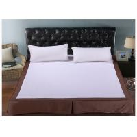 Quality Fashion Washable White King Size Bed Skirt / Hotel Collection Bedding for sale