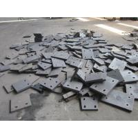Quality HRC65 Steel Blind Cement Mill Liners Plates With Ni-Hard Cast Iron for sale