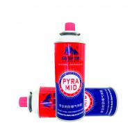 Quality Disposable butane gas cartridge 220g and cast iron aerosol canister for sale