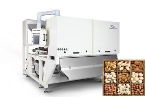 Quality Computing Platform Particles 4.5kw OSRAM Cashew Nuts Color Sorter for sale