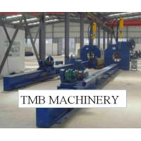 Buy Polygonal Conical Staff And Round Cone Stick Welding Machine Plaza Garden Light Pole Production Line Siemens Inverter at wholesale prices