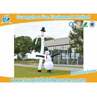 Quality Advertising Small Inflatable Air Dancering Man / Inflatable Snowman Dancer For Business for sale