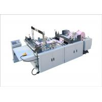 Buy cheap 380V Automatic Bag Making Machine For Non Woven Bags / Solid Bag 120 Pcs/Min from wholesalers