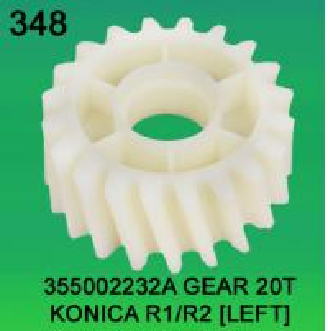 Quality 355002232A / 3550 02232A GEAR TEETH-20 FOR KONICA R1,R2 (LEFT) minilab for sale