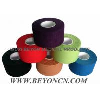 Buy cheap Cotton Adhesive Rigid Black Sports Tape Athletic Trainer's Tape For Joint Protection from wholesalers