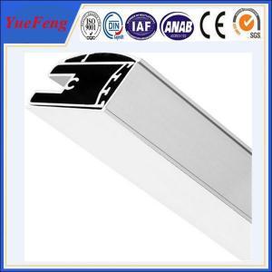 Quality aluminum shower screen profile manufacturer, polishing aluminium profiles shower enclosure for sale