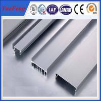 Quality aluminum profile for channel letter extrusion,customized shaped/ u aluminum channel,OEM for sale