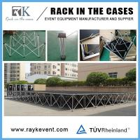 China Made in china roof truss with portable stage portable stage with step platform on sale