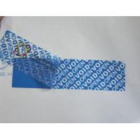 Quality High - Residue Self Adhesive Security Labels Reveal Hidden Message for sale
