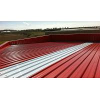 China Trapezoidal Roof Wall Panel Cold Roll Former Galvanized Steel High Speed on sale