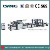China Full Automatic 5 type bags in 1 Non Woven Bag Making Machine Cost on sale