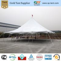Quality hot sale wedding tent pole marquee made of 850g/sqm roof cover and galvanized steel frame for sale