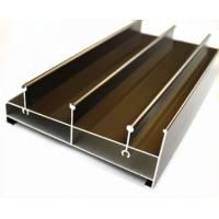 Quality Acid Resistant Extruded Aluminum Electronics Enclosure Track For Sliding Door for sale