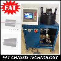Buy Air Shock Absorber Hydraulic Hose Crimping Machine 380V 4KW Power 100T Crimping Force at wholesale prices