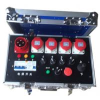 Buy Noctilucence Rack Flight Case , Four Channel Motor Chain Hoist Power Case at wholesale prices