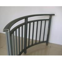 Quality Powder Painted Aluminum Hand Railings / Balustrade For Buildings for sale