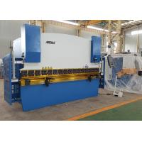Quality High Precision 4 Foot Press Brake Metal Brake Machine For Plate 320mm Throat Depth for sale