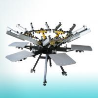 China Manual carousel screen printing machine prices on sale