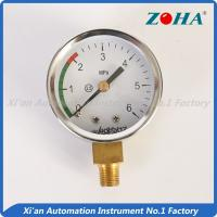 Quality low pressure gauge for sale