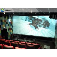 Quality 4D Home Theater Cinema System Theater Chairs With Software Hardware for sale