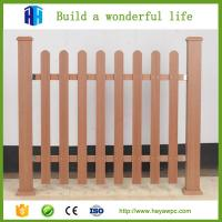 Quality fence wpc materials wood plastic composite cladding Chinese company manufacturer for sale