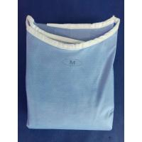 Quality Dustproof Sterile Non Woven Disposable Hospital Gowns for Operating Room for sale