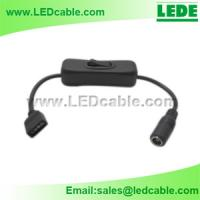 LED Strip Connect Cable with On/Off Switch for sale