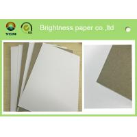 Quality High Bulking Large Flat Cardboard Sheets , White Black Paper Board For Electronics for sale