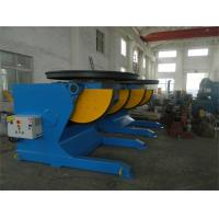 Quality Rotary And Tilting Manual Welding Positioners, 5000 kg Electric Rotary Welding Positioner for sale