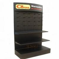 Quality Big Retail 3 Tier Floor Display Stands Black Available For Commodity Promotion for sale