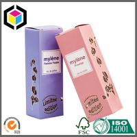 Quality Metallic Paper Material Color Print Packaging Box; Perfume Paper Packing Box for sale
