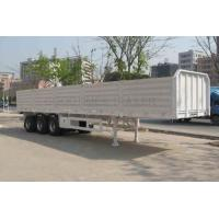 Quality 30ft Used Dump Trailers 2014 Year Made 3 *13 Tons Capacity With 8 Pieces Wheels for sale