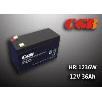 Quality 12V 7ah HR1236W Charge Ups Battery , Agm Longest Lasting Deep Cycle Battery for sale