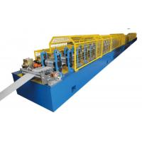 China Aluminum Rolling Shutters Door Frame Making Machine With PU Injection Foam System on sale